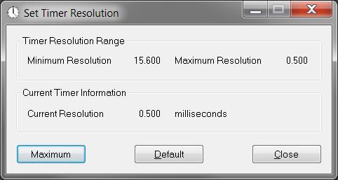 Click to view TimerResolution 1.2 screenshot
